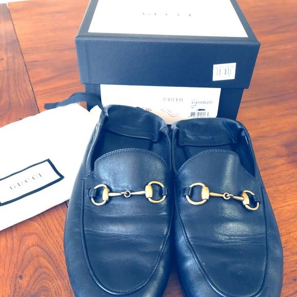 Gucci Shoes - GUCCI  Black Mule Size 39
